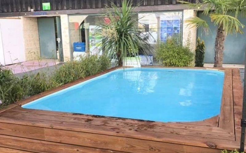 Aménagement extérieur de piscine