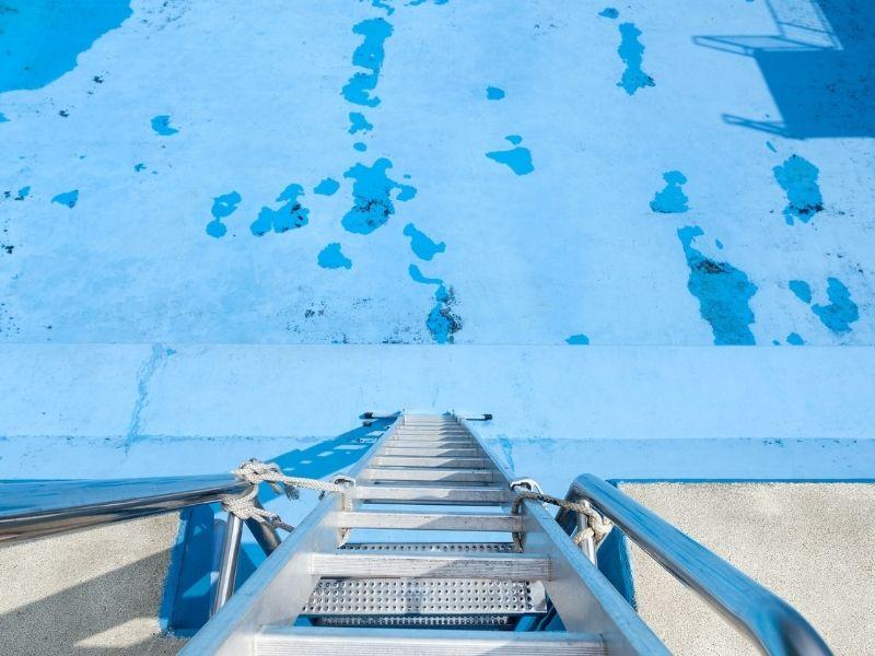 Rénovation de piscine - liner